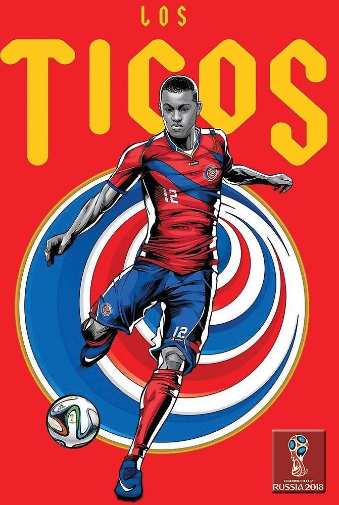 2018 World Cup Soccer Russia | TEAM COSTA RICA by RewardDesign