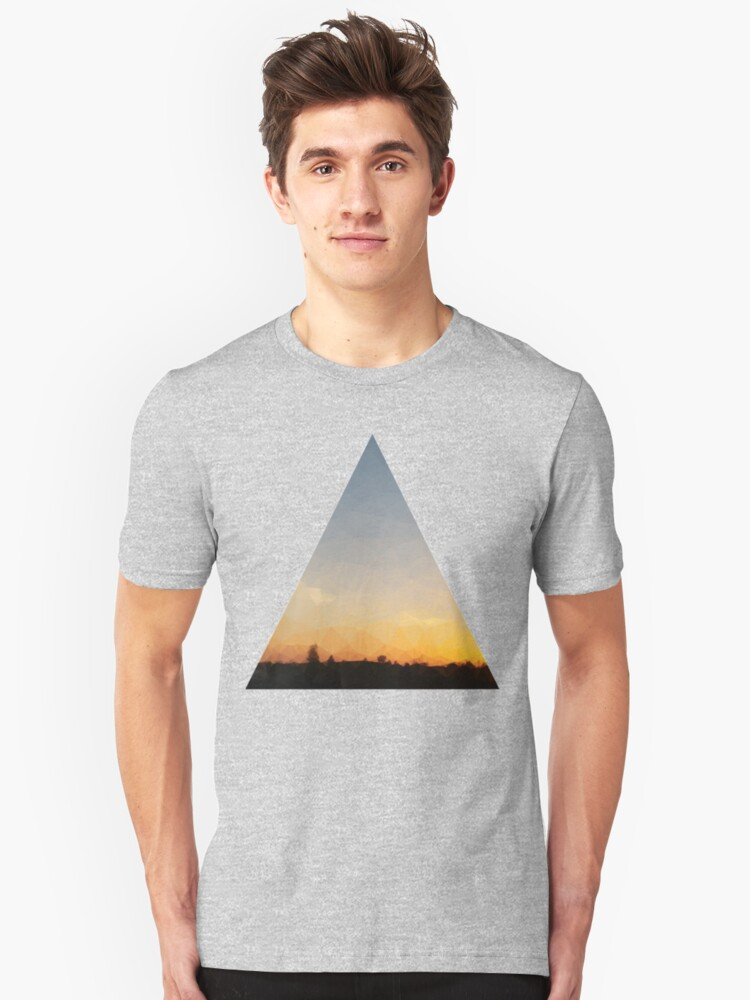 sunset Unisex T-Shirt Front