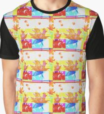 Glitchy Pattern Tile Graphic T-Shirt