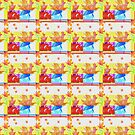 Glitchy Pattern Tile by SquibbleDesign