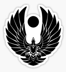 Romulun Empire Symbol Star Trek Sticker