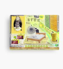 The yell-ow life you got  Canvas Print