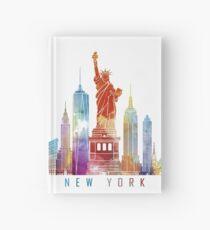 Cuaderno de tapa dura NYC Skyline