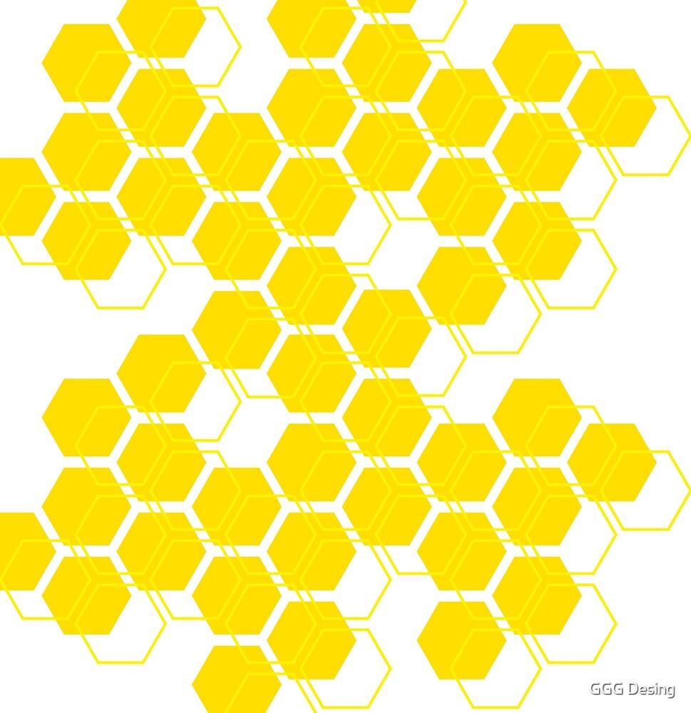 honeycomb by Geneviève Grandbois
