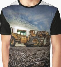 Tiling Machine Graphic T-Shirt