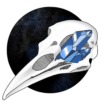 Crow Skull by WitchyTendency
