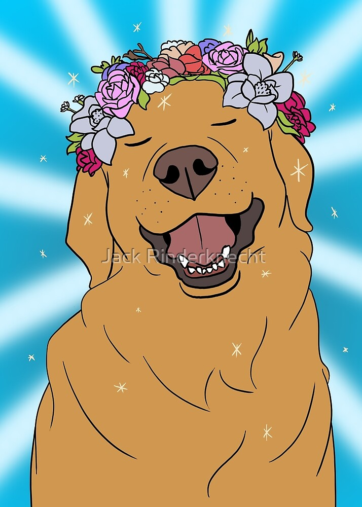 Flower Pup by Jack Rinderknecht