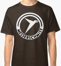 Messerschmitt Aircraft Logo -White- (No Label) Classic T-Shirt