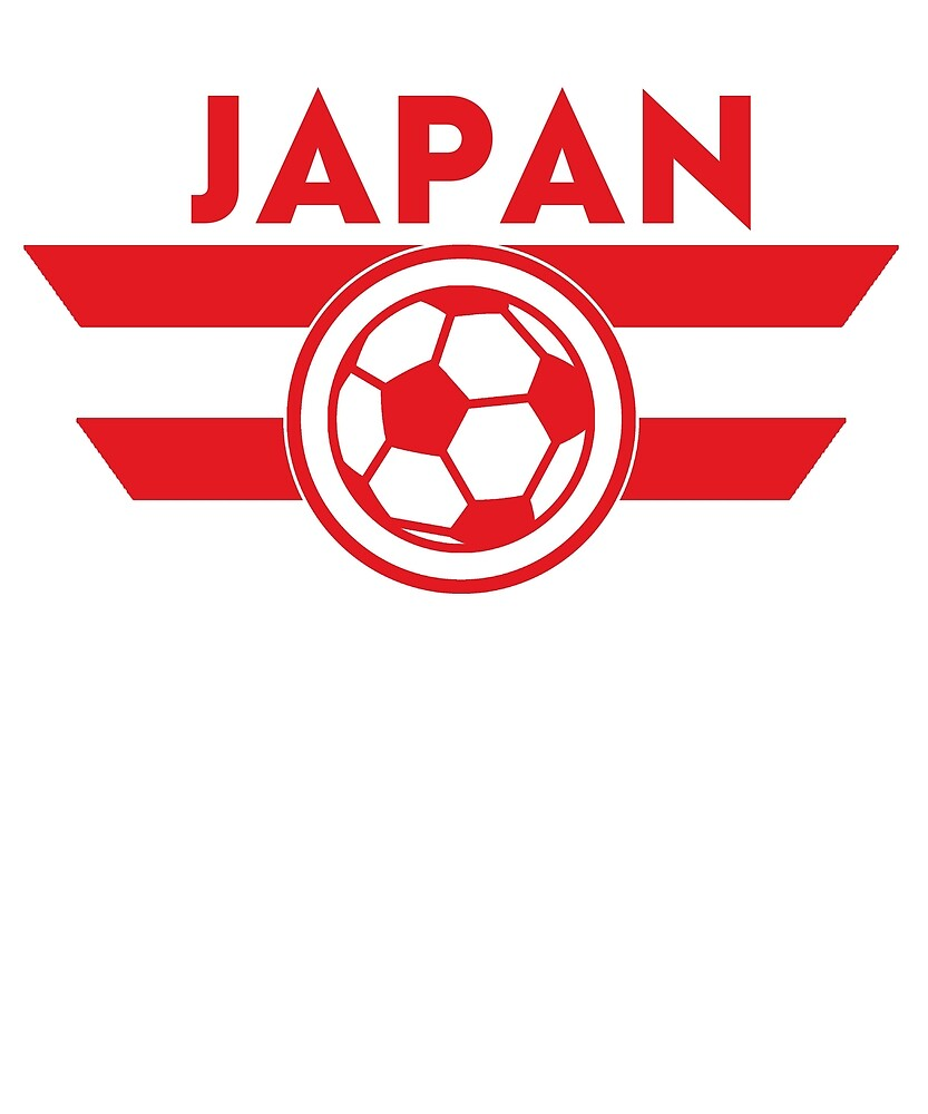 Japan Soccer Jersey Shirt Football Nippon by 7United