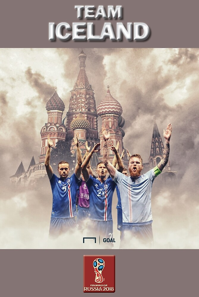 2018 World Cup Soccer Russia | TEAM ICELAND by RewardDesign