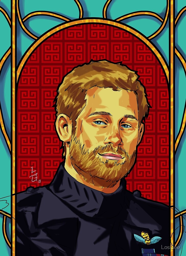Prince Harry by LosGee