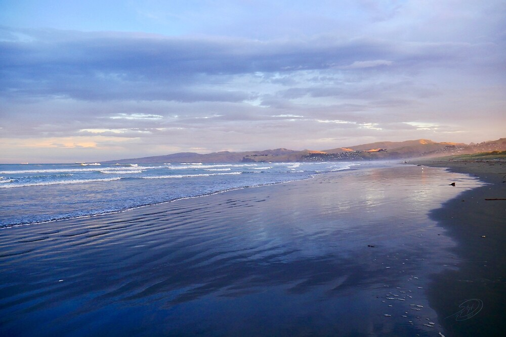 Christ Church beach by MuellerImages