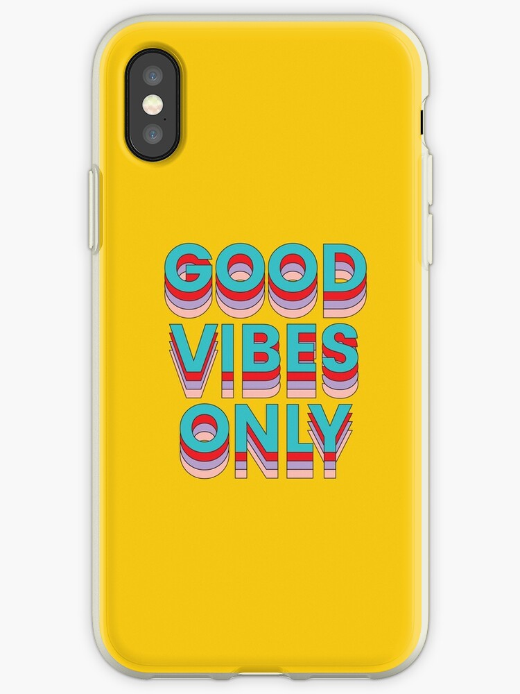 Good Vibes Only Yellow by Kinzie Madsen