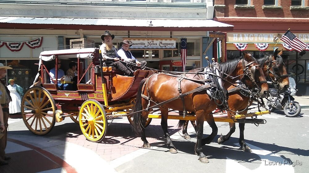 Stagecoach by Laura Puglia