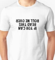 If you can read this roll me over Off Road Lover T Shirt black Unisex T-Shirt