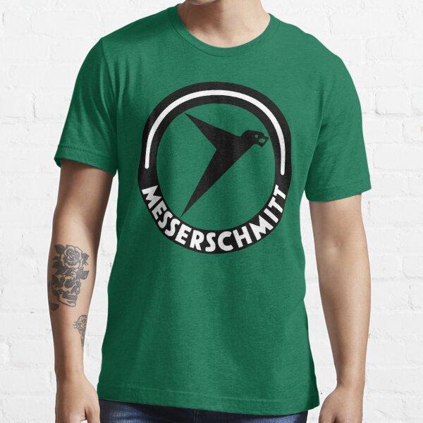 Messerschmitt Aircraft Logo -Black- (No Label) Essential T-Shirt