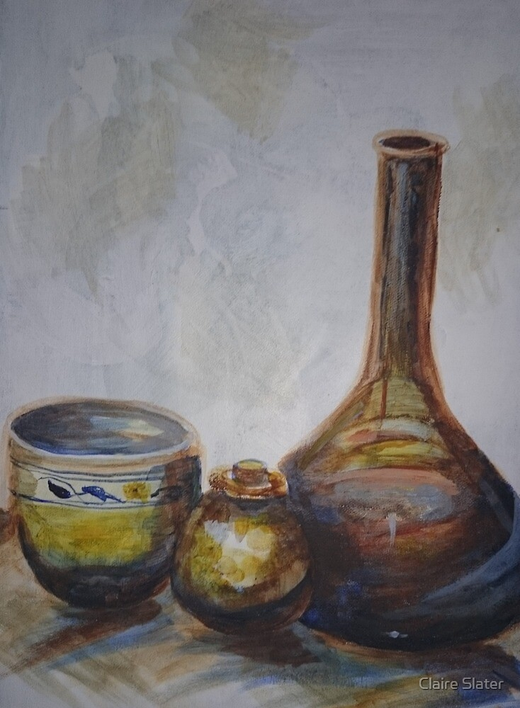 Still life by Claire Slater