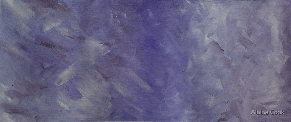 The Lavender Wall- Swirl by Albina Cook