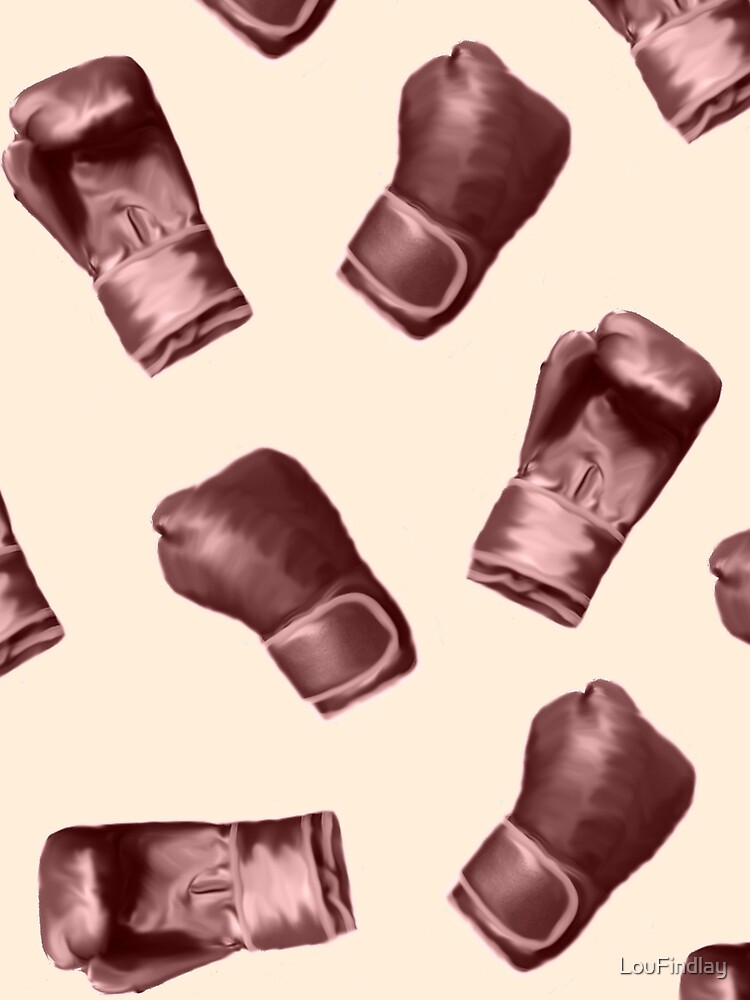 Red boxing gloves by LouFindlay