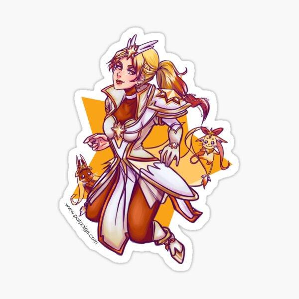 Leona Guardiana de las Estrellas Pegatina