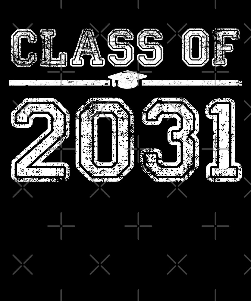 Class of 2031 T-Shirt  by Kimcf