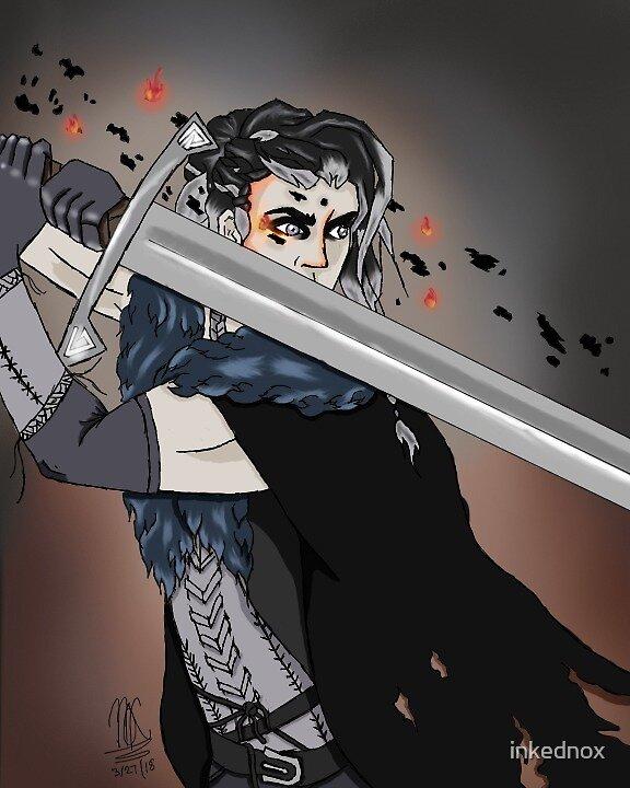 Fighting Yasha by inkednox