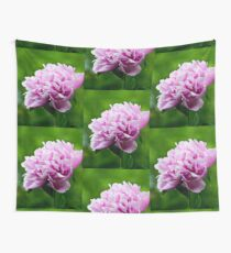 Showy Pink Pedals Wall Tapestry