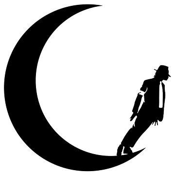 Moon Walk Silhouette by rogerpmit2