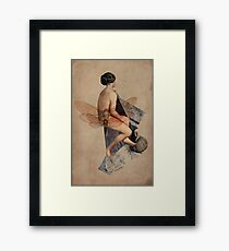 Venus Collage Framed Print