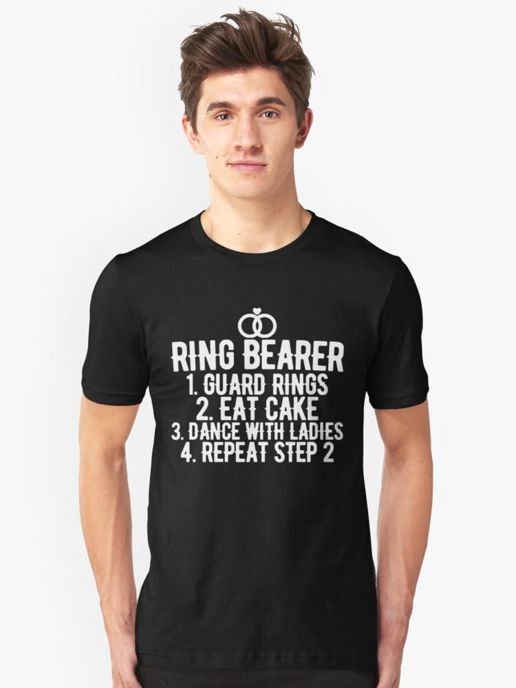 Ring Bearer  Unisex T-Shirt Front