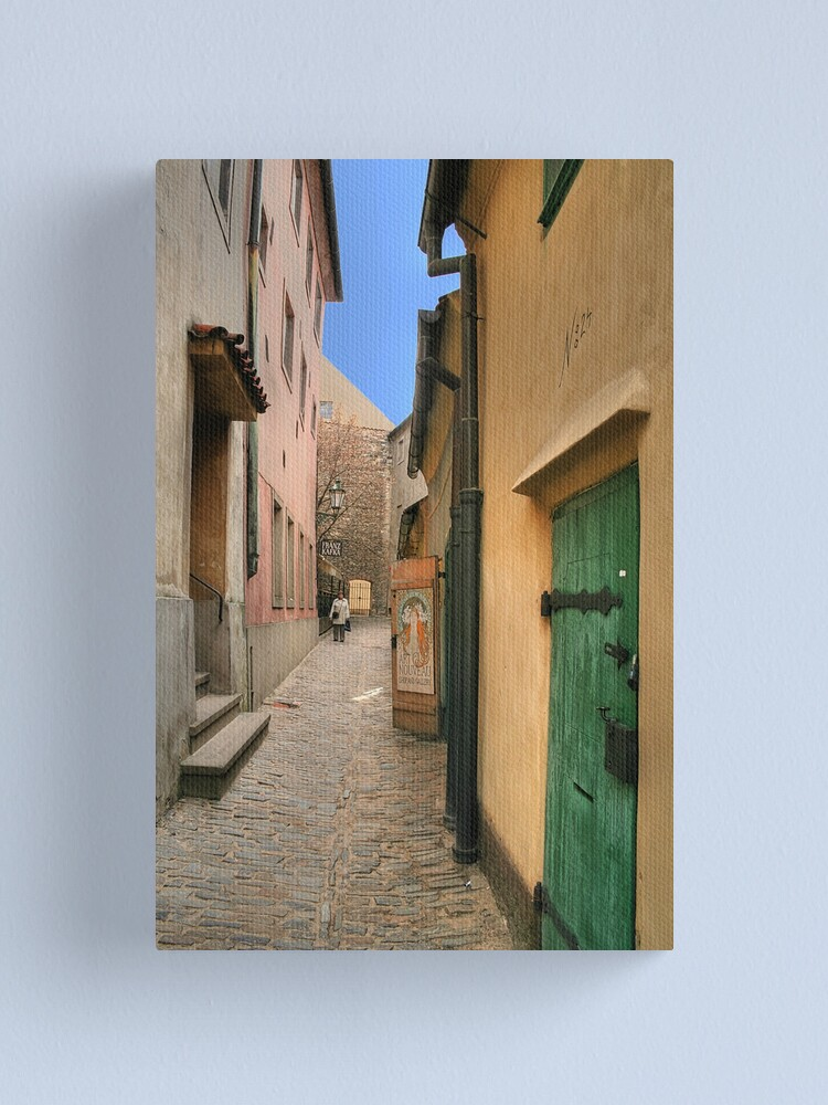 Alternate view of Golden Lane (HDR) Canvas Print