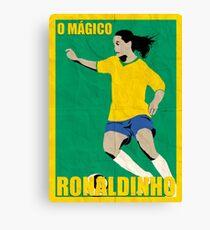 Ronaldinho Leinwanddruck