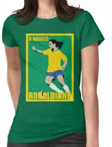 Ronaldinho Womens Fitted T-Shirt