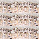 Bleating Hearts by TraceyMackieArt