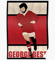 George Best Poster