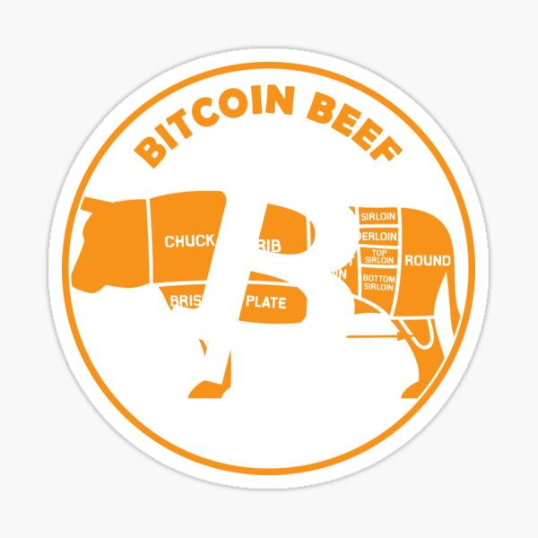 Bitcoin Beef Sticker