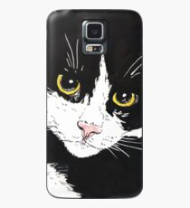 Tuxedo cat Case/Skin for Samsung Galaxy