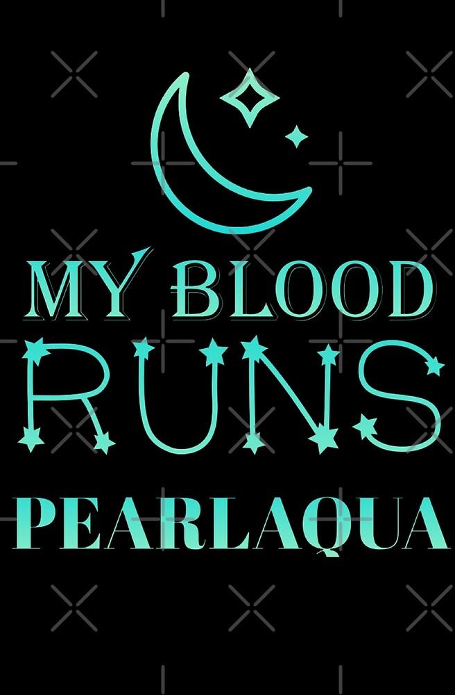 My Blood Runs PearlAqua  by Lulu-Kim
