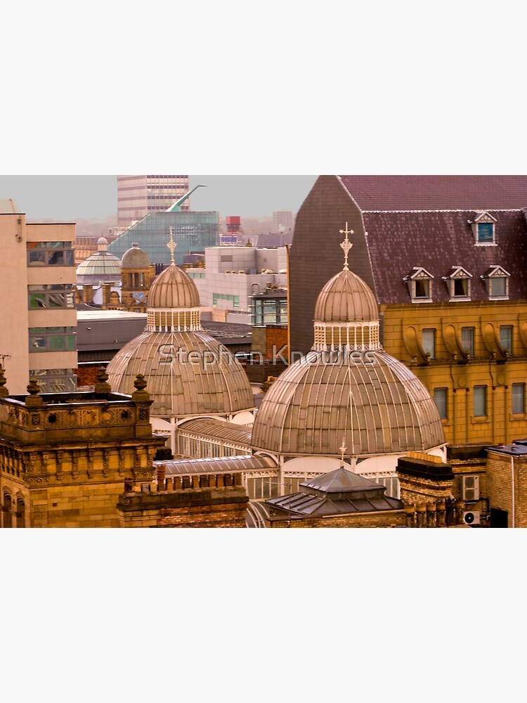 Barton Arcade roof, Manchester city centre by stephenknowles