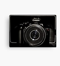 Canon Rebel T3 front Canvas Print