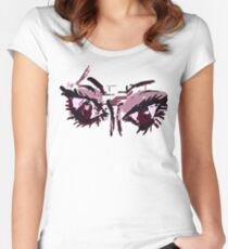 Violent eyes Women's Fitted Scoop T-Shirt
