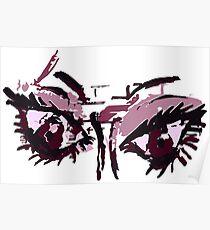 Violent eyes Poster