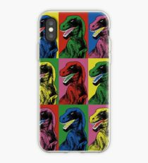 Vinilo o funda para iPhone Dinosaur Pop Art
