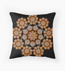 'Janus 2 (Enneagram)' Throw Pillow