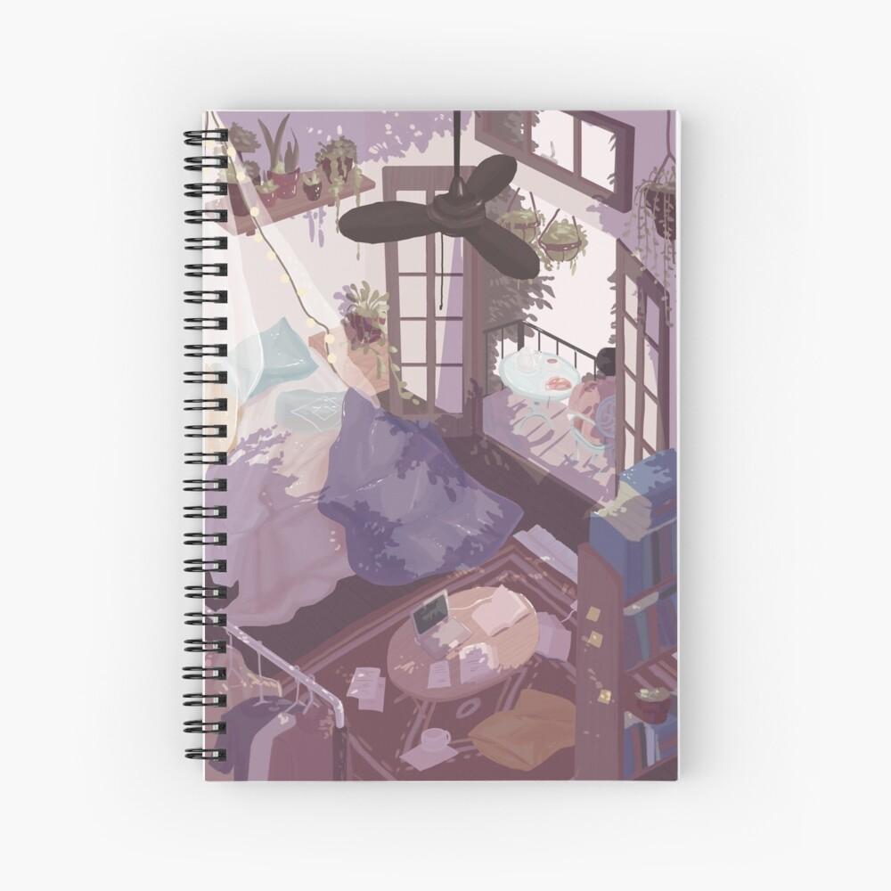 Saturday Breakfast Spiral Notebook By Mienar Redbubble