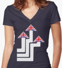 Mod's Army Women's Fitted V-Neck T-Shirt