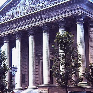 The Pantheon in Paris by bloomingvine