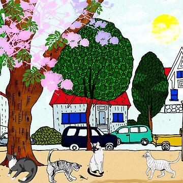 Street Cats 1 by Design4uStudio