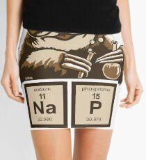 Chemistry sloth discovered nap Mini Skirt