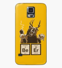 Chemistry bear discovered beer Case/Skin for Samsung Galaxy